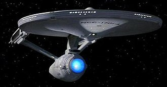 Starship - The USS ''Enterprise'' - a well known fictional starship