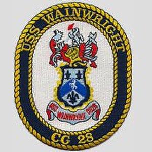 USS Wainwright (CG-28) - Image: USS Wainwright (CG 28) Badge