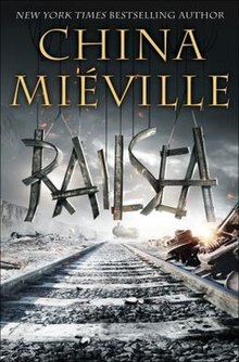 Cover of the first US hardcover edition of Railsea