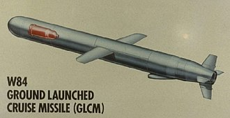 W84 - The GLCM missile showing the W84 location (LLNL drawing)