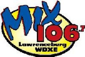 WTNX - Image: WDXE FM 2008