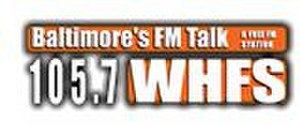 WJZ-FM - This logo was used during WHFS's talk radio incarnation.