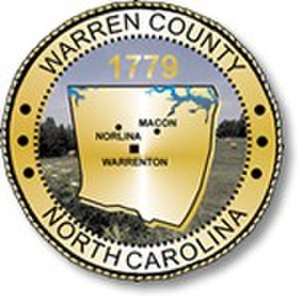 Warren County, North Carolina - Image: Warren County nc Seal
