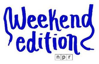 Weekend Edition - Image: Weekend Edition logo