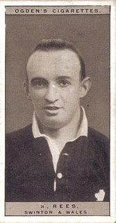 William Rees (rugby) Welsh rugby union and rugby league player