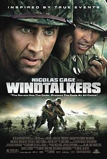 a review of the wind talkers a movie by john woo Director john woo's south pacific world war ii drama windtalkers concerns the use of the navajo language as a code to get radio messages past the japanese you might expect that to mean it would be a good opportunity for native american actors, and it is, but as a big-budget hollywood feature it also requires big-name anglo-saxon actors, so the story is more about the marines played by.