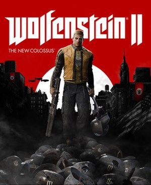 Wolfenstein II: The New Colossus - Image: Wolfenstein ii the new colossus cover