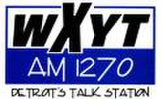 WXYT (AM) - WXYT logo, used until switching to sports talk in 2001