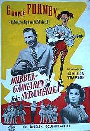 South American George - Swedish theatrical poster