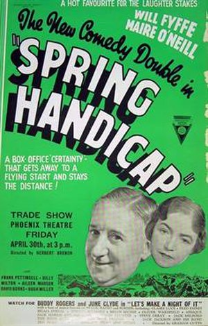 Spring Handicap - Original trade ad