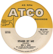 """Stand by Me"" by Ben E King US vinyl Side-A.png"