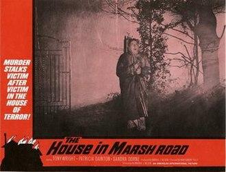 The House in Marsh Road - Original lobby card