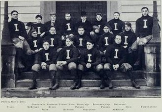 1901 Illinois Fighting Illini football team - Image: 1901 Illinois Fighting Illini football team