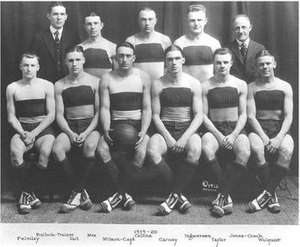 "1919–20 Illinois Fighting Illini men's basketball team - ""1919-20 Fighting Illini men's basketball team"""