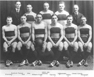 """1919–20 Illinois Fighting Illini men's basketball team - """"1919-20 Fighting Illini men's basketball team"""""""