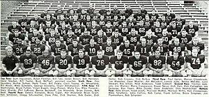 1962 Illinois Fighting Illini football team - Image: 1962 Illinois Fighting Illini football team