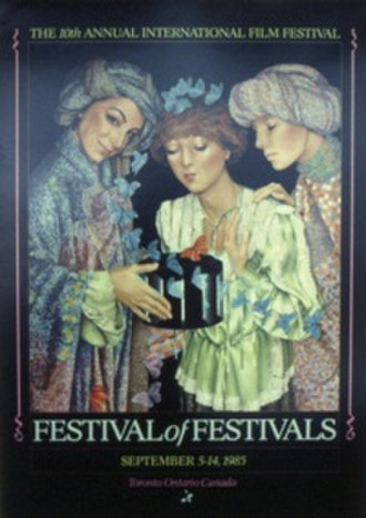 1985 Toronto International Film Festival - Festival poster