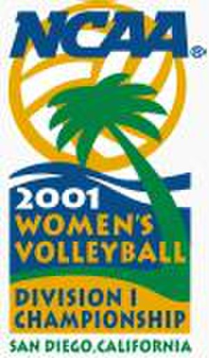 2001 NCAA Division I Women's Volleyball Tournament - 2001 NCAA Final Four logo