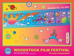 Woodstock Film Festival - Promotional poster for the 2007 festival.