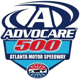 Folds of Honor QuikTrip 500 - Image: 2011 Advo Care 500 race logo