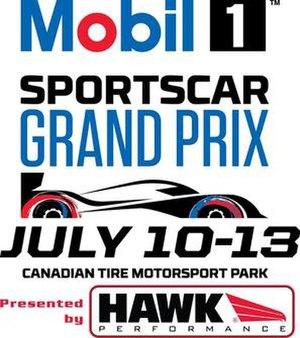 2014 SportsCar Grand Prix - Image: 2014 Mobil 1 Sports Car Grand Prix Logo