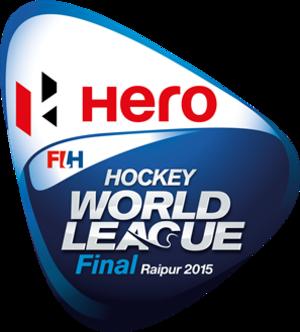 2014–15 Men's FIH Hockey World League Final - Image: 2015 FIH Hockey World League Final Raipur Logo