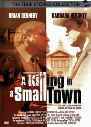 A Killing in a Small Town - DVD cover