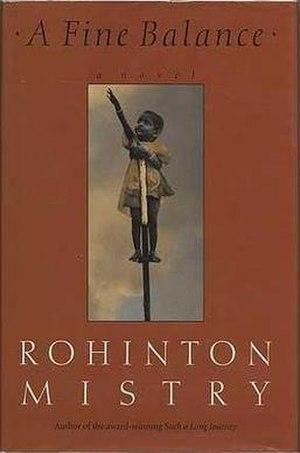 A Fine Balance - First edition