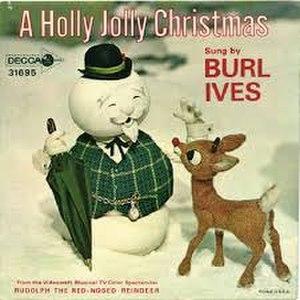 A Holly Jolly Christmas - Image: A Holly Jolly Christmas Burl Ives