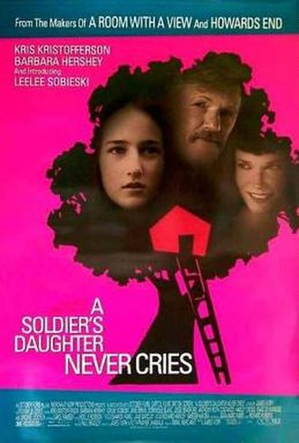 A Soldier's Daughter Never Cries (film) - Theatrical release poster