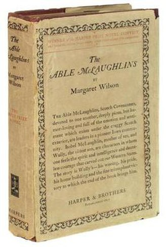 The Able McLaughlins - Cover of the first edition