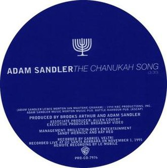 The Chanukah Song - Image: Adam Sandler The Chanukah Song
