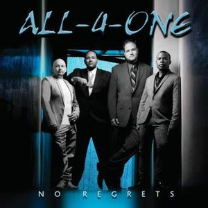 No Regrets (All-4-One album) - Image: All 4 One No Regrets