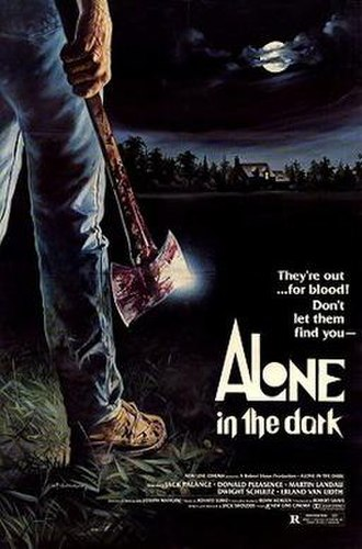Alone in the Dark (1982 film) - Theatrical release poster