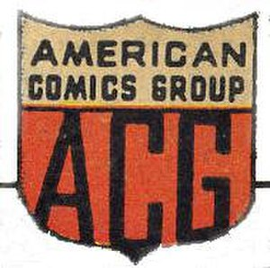 American Comics Group - Image: American Comics Group ACG logo sub