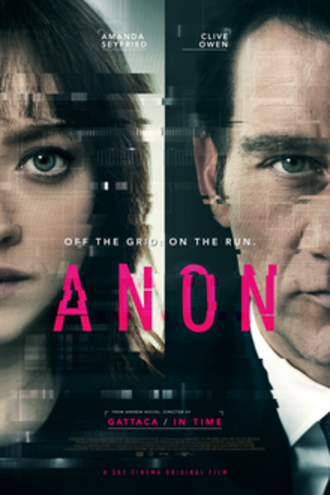 Anon (film) - Theatrical release poster