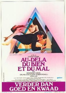 <i>Beyond Good and Evil</i> (film) 1977 Drama film directed by Liliana Cavani