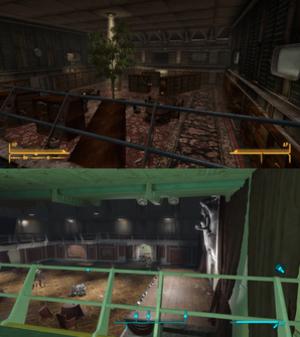 Fallout 4: Far Harbor - Image: Autumn Leaves and Far Harbor comparison