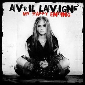 My Happy Ending - Image: Avril lavigne my happy ending single