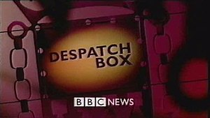 Despatch Box - The final programme titles