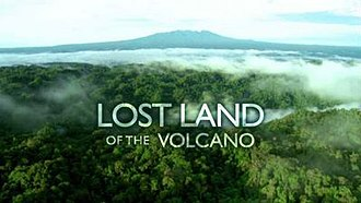 Lost Land of the Volcano - Series title card from UK broadcast