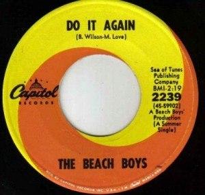 Do It Again (The Beach Boys song) - Image: Beach Boys Do It Again (single)