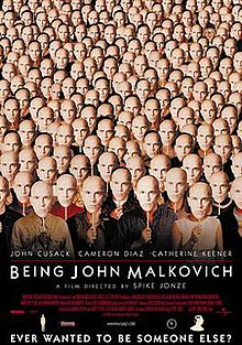 Image result for being john malkovich 1999 poster