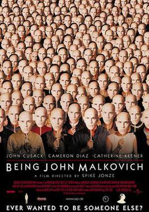 Being John Malkovich - Theatrical release poster