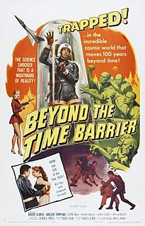 <i>Beyond the Time Barrier</i> 1960 film by Edgar George Ulmer