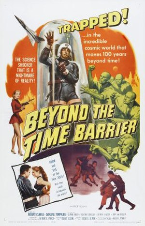 Beyond the Time Barrier - Theatrical release poster