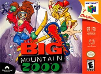 Big Mountain 2000 - North American Nintendo 64 cover art