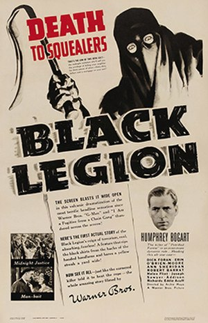 Black Legion (film) - theatrical poster