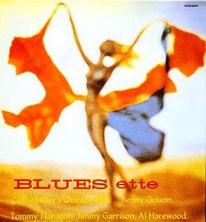 <i>Blues-ette</i> 1960 studio album by Curtis Fuller