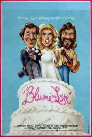 Blume in Love - Image: Blume in love movie poster 1973